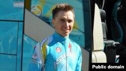 Казахстанский велогонщик Максим Иглинский.