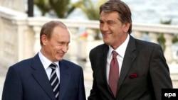 Атмосферу визита Виктора Ющенко в Москву испортил газовый конфликт