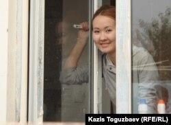 Айдана Айдархан, дочь диссидента Арона Атабека. Алматы, 29 сентября 2012 года.