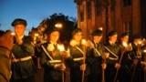 Факельное шествие в Керчи, 8 мая 2014 года