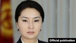 Индира Джолдубаева, генеральный прокурор Кыргызстана.