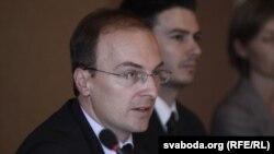 Антонио Милошоски, шеф на мисијата на ОБСЕ која ги следеше изборите во Белорусија
