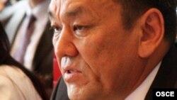 Молдомуса Конгантиев. 2009-жылы тартылган сүрөт.
