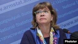 Глава ереванского офиса Всемирного банка Лора Бейли (архив)