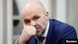 The head of the Kherson Regional Council, Vladyslav Manher (file photo)