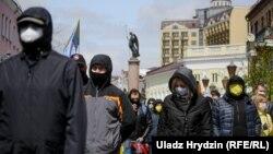 Пратэст супраць акумулятарнага заводу ў Берасьці, красавік 2020