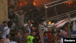 جنوب بیروت در روز پنجشنبه