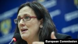 Член Европейской комиссии по внутренним делам Сесилия Мальмстрем