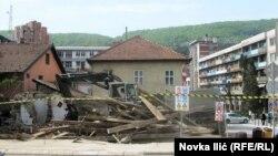 Srušena kuća Ljube Stojanovića u Užicu