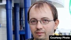 Journalist Ales Lyauchuk