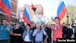 Шествие в Саратове 5 мая 2018 года