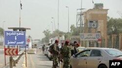 نمایی از منطقه سبز در بغداد