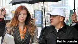 Олеся Балтусова и Рустам Минниханов