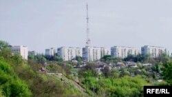 Одна зі зсувонебезпечних балок у Дніпропетровську