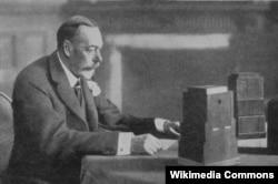 Георг V поздравляет подданных с Рождеством. Декабрь 1934