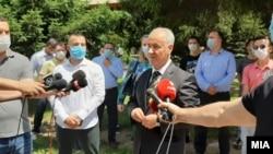 Насер Зибери, кандидат за прв премиер од албанска националност