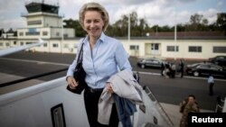 German Defense Minister Ursula von der Leyen (file photo)