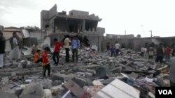 سعودي عرب په یمن کې د حوثي یاغیانو پر ضد د جګړې مشري کوي