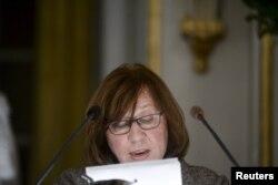 Нобелевская лекция Светланы Алексиевич в Стокгольме. Декабрь 2015 года
