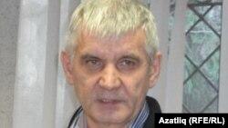 "Bashkortostan -- Ramil Bignov, one of the leaders of newly created ""Tatars of Bashkortostan"" organization in Ufa, 09Nov2010"