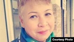 Өзбек белсендісі Гүлбахор Тураева.