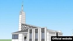 Макет новой мечети
