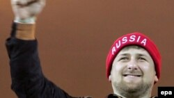 Лучший друг чеченских физкультурников Рамзан Кадыров