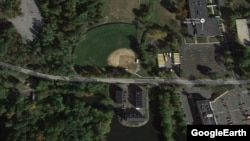 تصویر هوایی از سد بومن در نزدیکی نیویورک