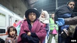 Գերմանիա - Փախստականներ Քյոլնում, 22-ը սեպտեմբերի, 2015թ․