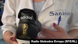 Kopačke koje se u Bosni i Hercegovini proizvode za Svjetsko prvenstvo