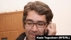 Журналист телеканала «Аль-Джазира» Симон Островский. Алматы, 4 февраля 2011 года.