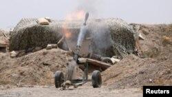 Položaj SDF-a u blizini Rake