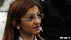 Macedonian Interior Minister Gordana Jankulovska