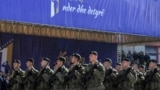 KOSOVO - Soldiers of Kosovo Security Force march during a celebrations of the 11th anniversary of Kosovo independence in Pristina, Kosovo, February 17, 2019