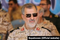 Iran – Iranin Brigadier General Mohammad Pakpour, during a military drill in Iran, undated.