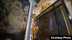 """Икона Божией Матери """"Семистрельная"""", которая по преданию спасла вологжан от холеры. Фото Вологодской митрополии"""