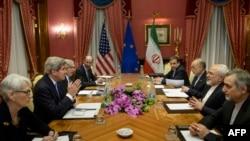 Під час переговорів у Лозанні, 29 березня 2015 року