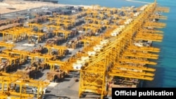 Jebel Ali Port in Dubai, UAE