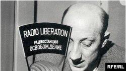 """1956. Журналист нью-йоркского бюро радио """"Освобождение"""" Борис Оршанский"""