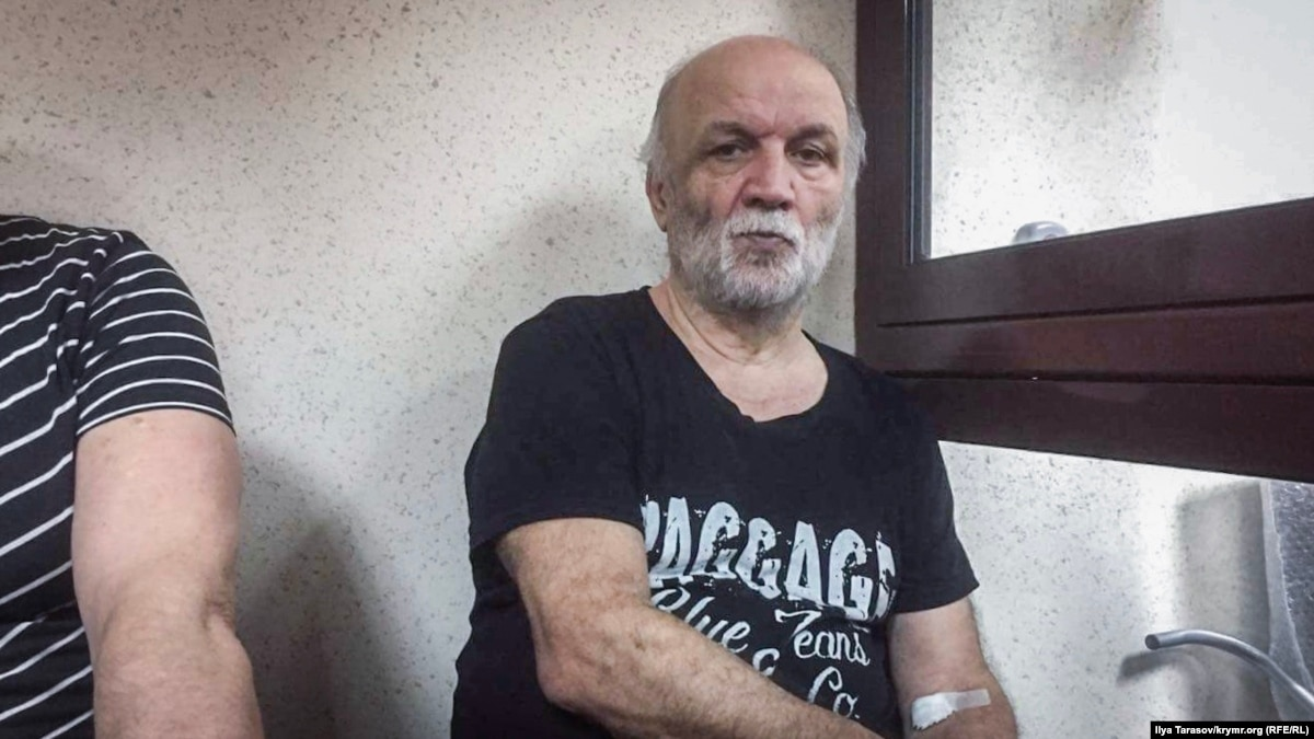 Симферополь: суд по «делу Веджие Кашка» перенесли из-за отсутствия больного Чапуха