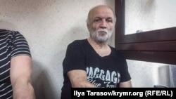 Асан Чапух в зале Киевского районного суда