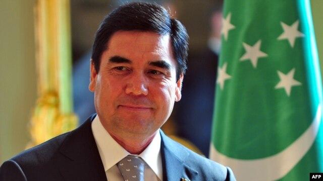 Turkmen President Gurbanguly Berdymukhamedov (file photo)