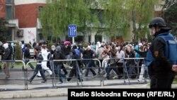 од протестите