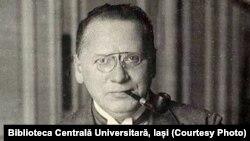 Maxim Litvinov, Comisarul pentru Afaceri Externe a URSS. Sursă: Biblioteca Centrală Universitară, Iași