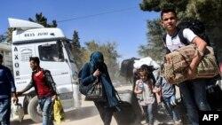 Izbjeglice i dalje pristižu u Evropu iz Sirije