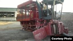 Mashina-traktor parki.