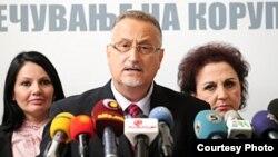 Претседателот на државната Комисија за спречување корупција, Воислав Зафировски