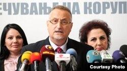 Претседателот на Антикорупциската комисија Воислав Зафировски