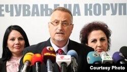 Претседателот на Антикорупциската комисија Воислав Зафировски.