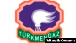 """Türkmengaz"" döwlet konserniniň resmi nyşany"